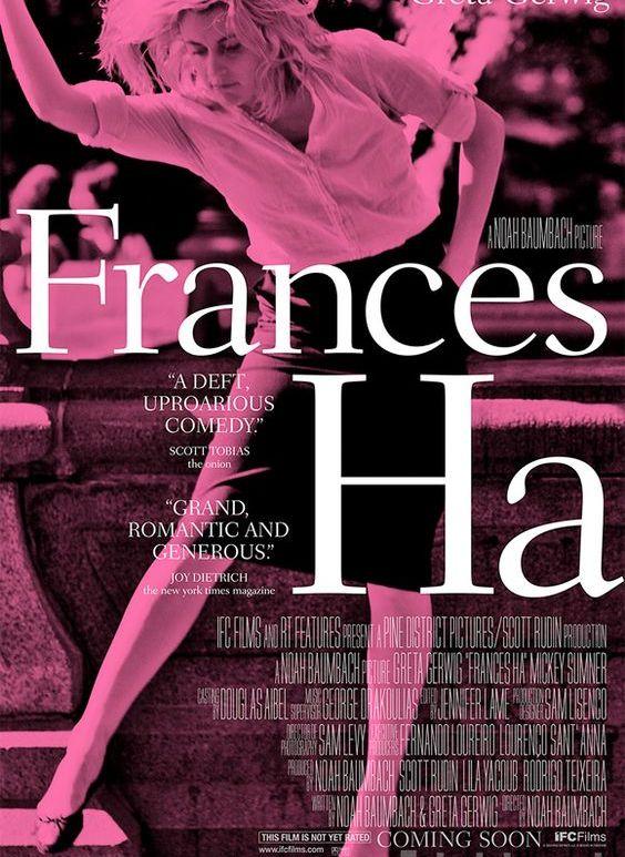 Frances Ha, de Noah Baumbach, sorti en 2012
