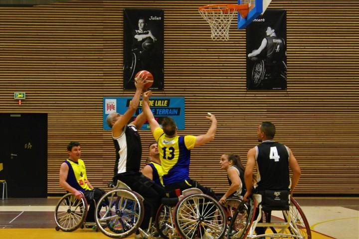 Basket fauteuil, Lille-Gennevilliers