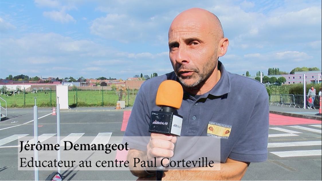 Jérôme Demangeot, Educateur au centre Paul Corteville