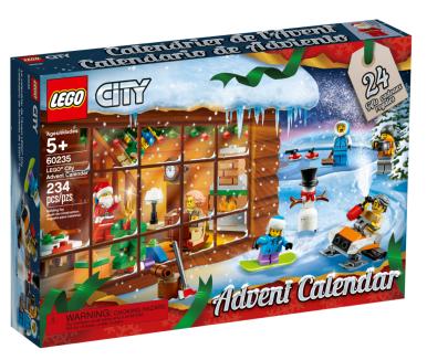 Calendrier Lego, 19,99€